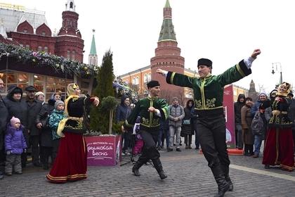 Участники фестиваля «Крымская весна» в Москве