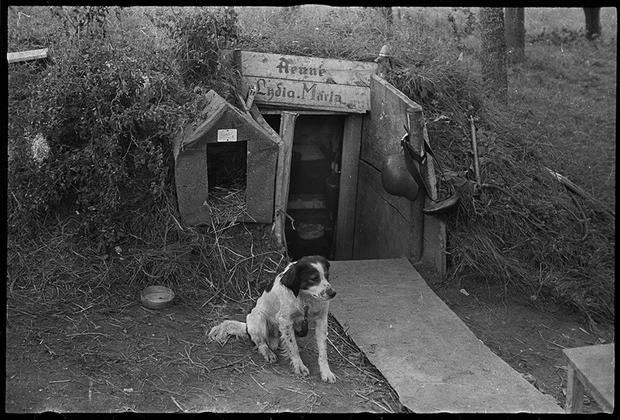 Май 1940 года. Баризи, Франция.