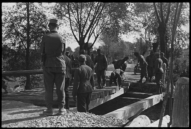 1941 год. Самбор, Украина.