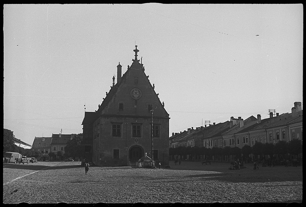 1941 год. Бардеёв, Словакия.