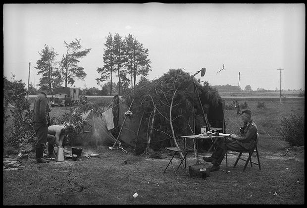Июль 1941 года. Кричев, Белоруссия.