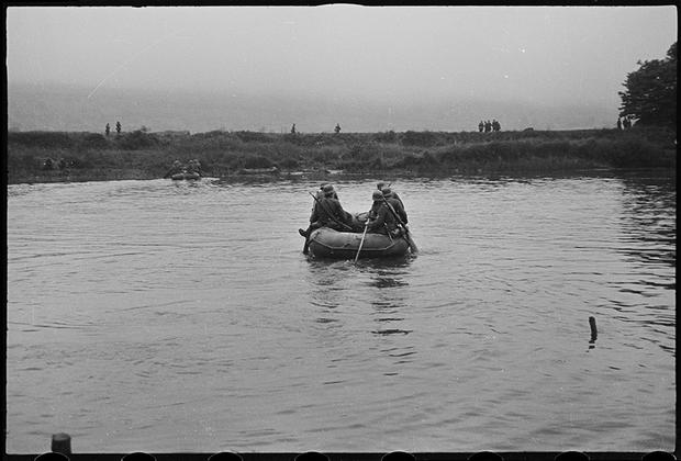 Июнь 1940 года. Эна-Марн, Франция.