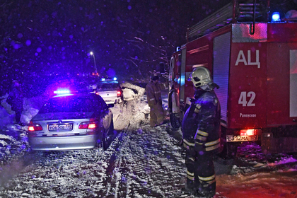 На месте крушения самолета Ан-148 «Саратовских авиалиний» в Раменском районе Московской области