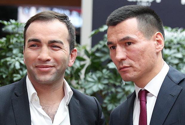 Бату Хасиков (справа) и Камил Гаджиев