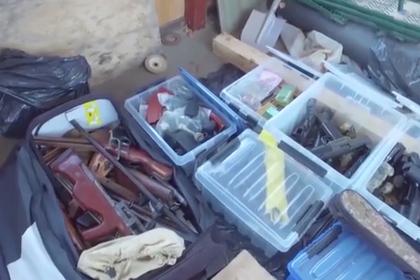 Хозяевами крупнейшего тайника с оружием назвали бандитов из Таганской ОПГ