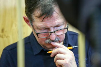 Владимир Барсуков во время оглашения приговора