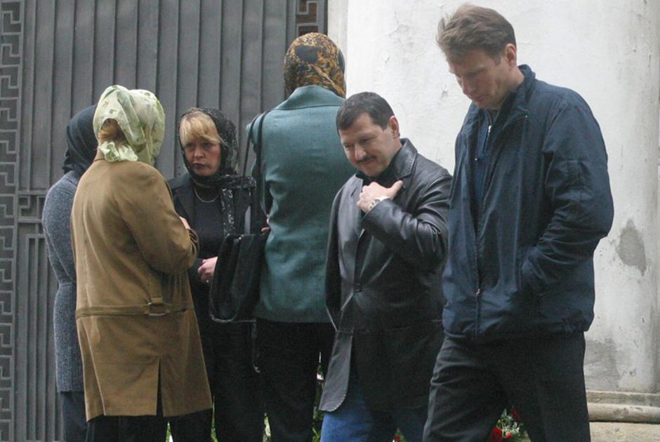 Владимир Барсуков (Кумарин) — второй справа