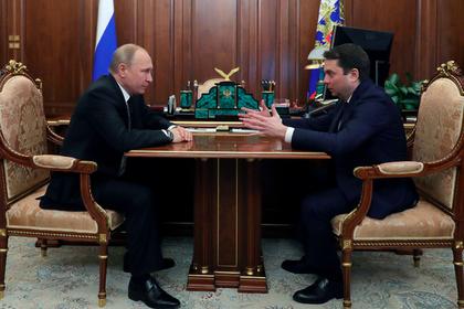 Владимир Путин и Андрей Чибис