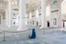 Считается самой большой мечетью в Центральной Азии. Ее строительство началось в 2009 году, в нем были задействованы полторы тысячи рабочих. Хазрет Султан открылась в июле 2012 года.