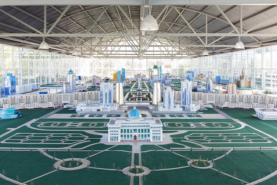 Этот экспонат выставки доделают одновременно с окончанием масштабного проекта развития города в 2030 году.