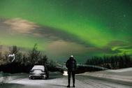 Полярное сияние. Вид из Норвегии