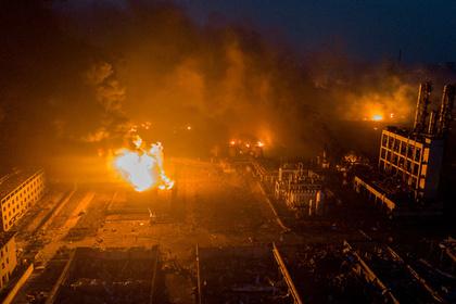 Из-за взрыва на китайском химзаводе пострадали более 600 человек