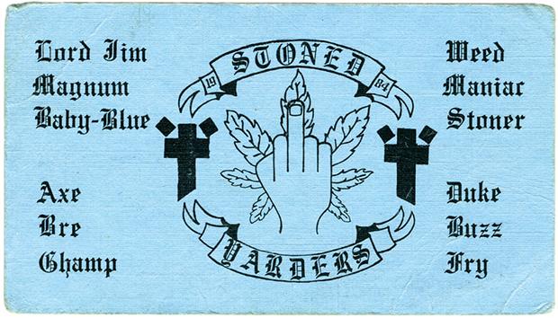 Визитная карточка банды Insane Popes