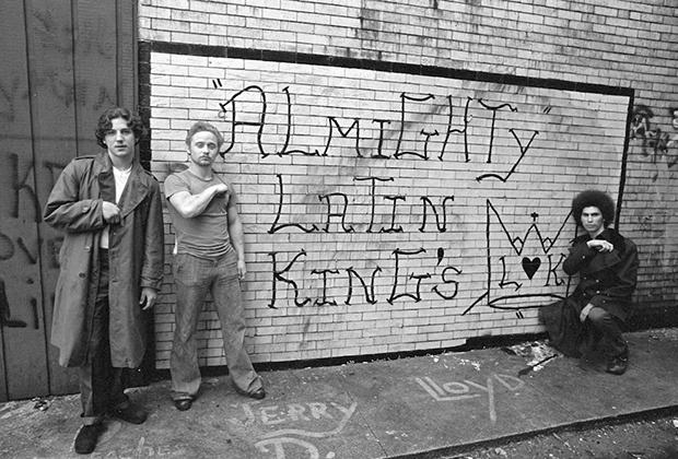 Члены банды Latin Kings