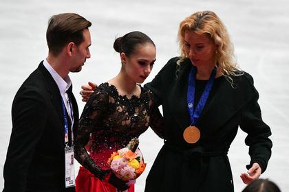 Хореограф Даниил Глейхенгауз, Алина Загитова и тренер Этери Тутберидзе