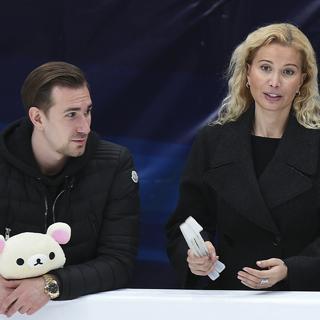 Хореограф Даниил Глейхенгауз и тренер Этери Тутберидзе