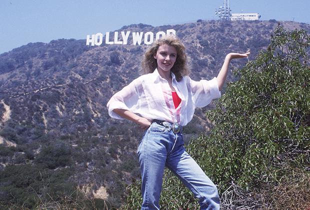 Кайли Миноуг в Голливуде, 1988