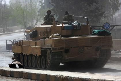 Турецкие военные внезапно придвинулись к курдам