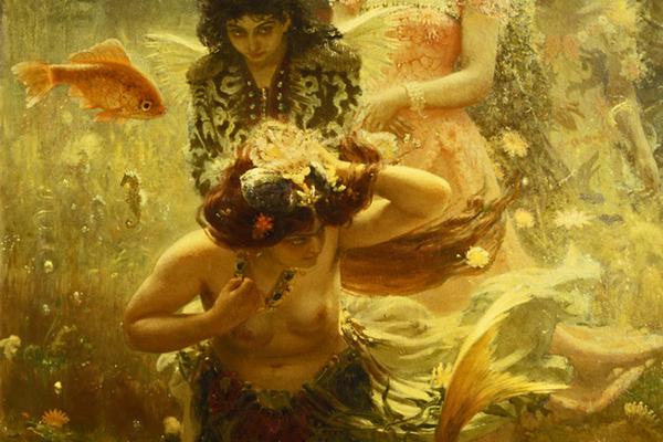 Фрагмент картины «Садко»