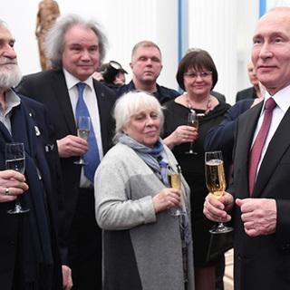 Владимир Путин и Николай Переслегин