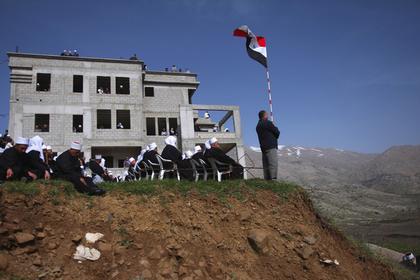 Сирия потребовала обсудить Голанские высоты в ООН
