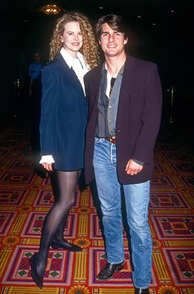 Николь Кидман и Том Круз, Лос-Анджелес, 1992