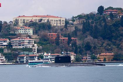 Российская подлодка впервые за полтора года вернулась в Черное море