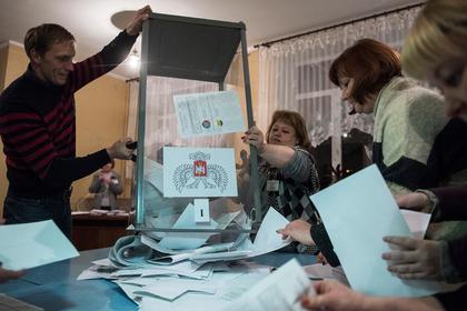 Организатор референдума о независимости ДНР возглавила избирком на Украине