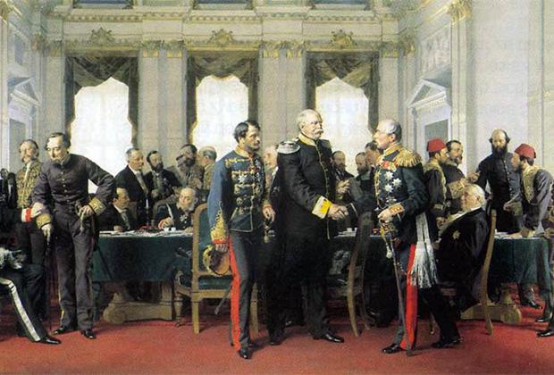 Картина Антона фон Вернера «Берлинский конгресс»