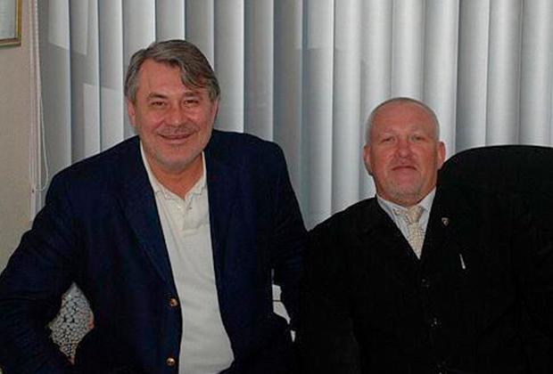 Михаил Орский (слева) и Леонид Ачкасов