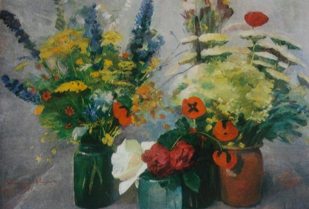 Сарьян Мартирос. «Полевые цветы»