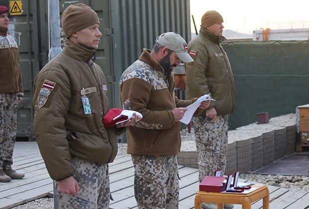 Латвийский контингент в Афганистане