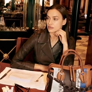Ирина Шейк в рекламной кампании Tod's