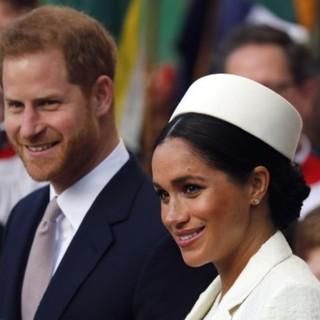 Принц Гарри и принцесса Меган
