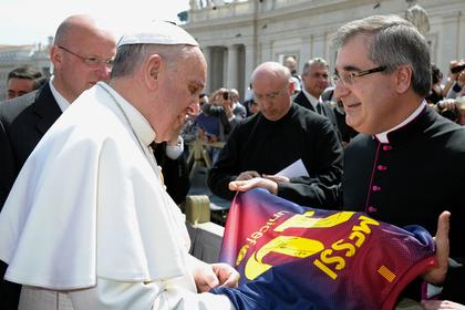 Папа Римский ответил на вопрос о божественности Месси