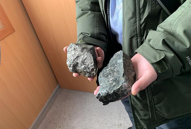 Образцы руды
