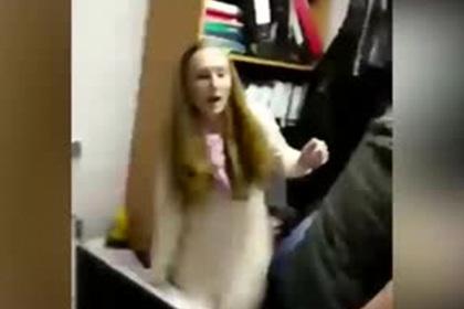 Нападение на родственницу Скрипаля попало на видео