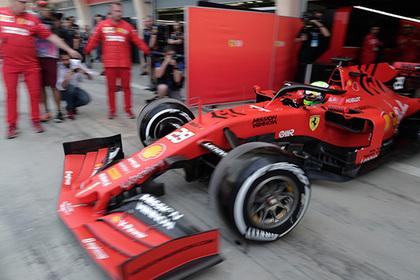 Сын Шумахера впервые сел за руль болида «Формулы-1»
