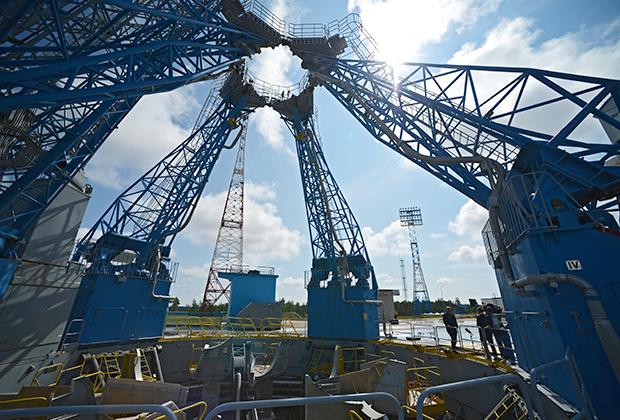 Стартовый комплекс на космодроме «Восточный»