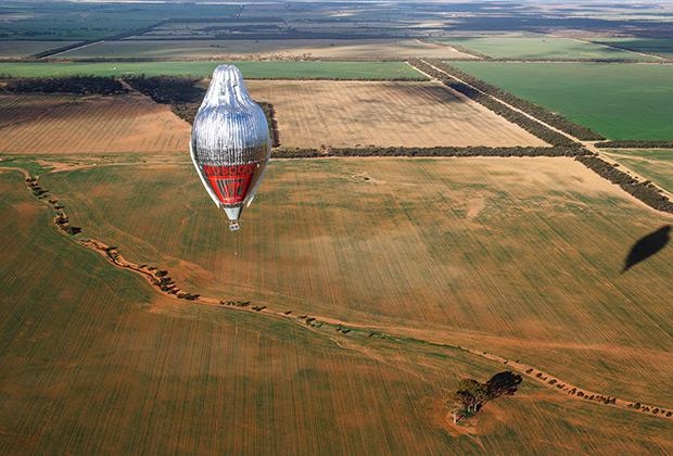 Одиночный кругосветный полет на воздушном шаре «МОРТОН»