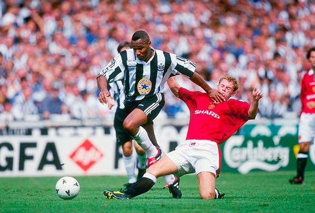 Матч за Суперкубок Англии между «Манчестер Юнайтед» и «Ньюкаслом»