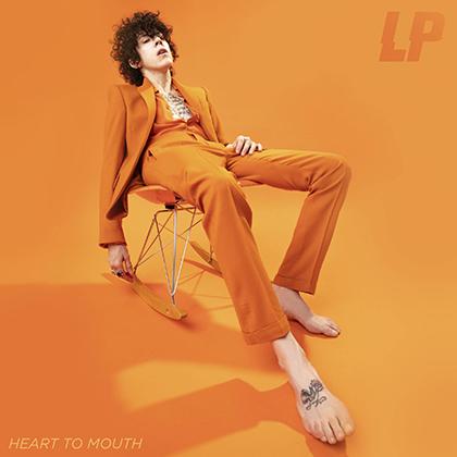 Обложка последнего альбома LP «Heart to Mouth» (2018)