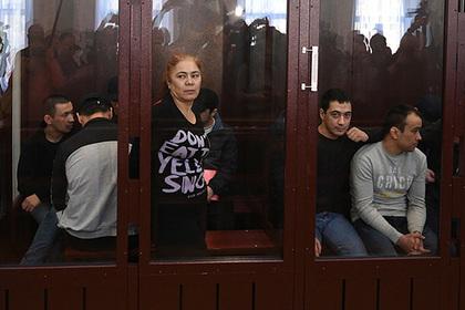 Фигуранты дела о взрыве в метро Петербурга устроили акцию протеста