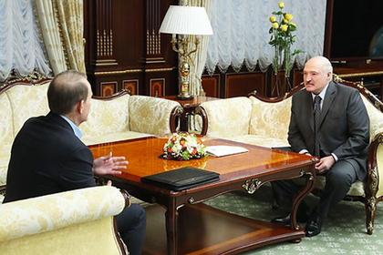 Виктор Медведчук и Александр Лукашенко