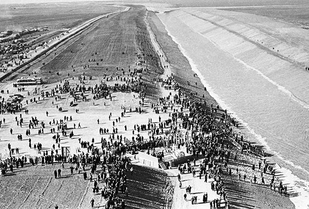 Северо-Крымский канал, 1963 год