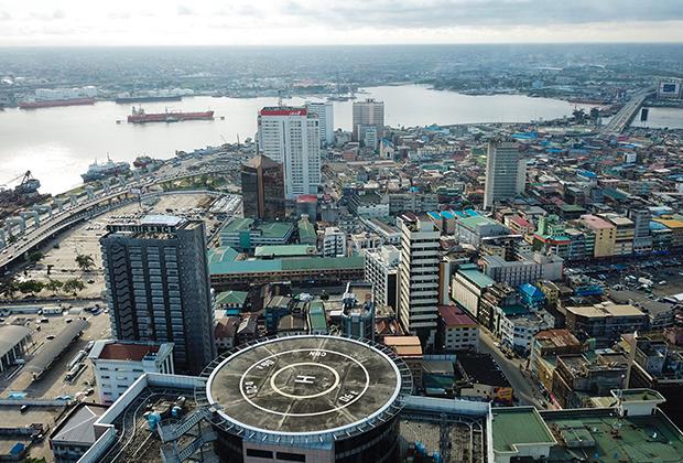 Центр города Лагос, Нигерия