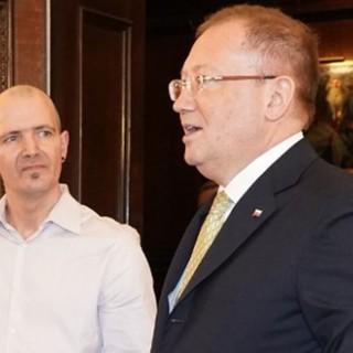 Чарльз Роули и Александр Яковенко