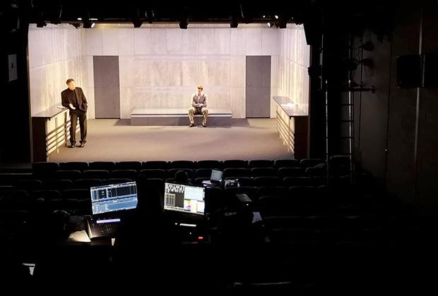 Репетиция спектакля «Преступление и наказание»