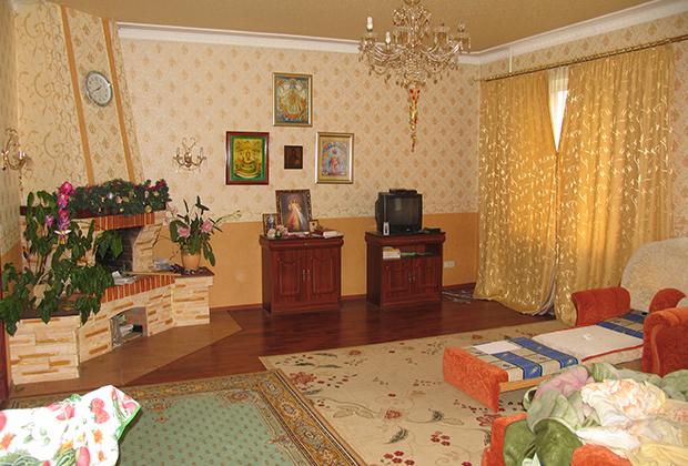 Осмотр дома Ангелины Боголюбовой, проведенный 1 сентября 2014 года