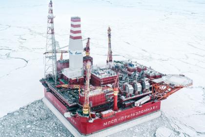 «Газпром нефть» добыла первые 10 миллионов тонн нефти на Приразломном